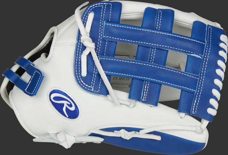 Liberty Advanced Color Series 13-Inch Outfield Glove White/Royal