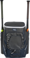 Front of a navy Rawlings Impulse bag with a navy Rawlings patch and two bats in the sides - SKU: IMPLSE-N image number null
