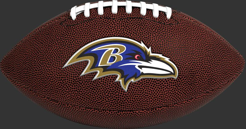 Brown NFL Baltimore Ravens Football With Team Logo SKU #07081092811