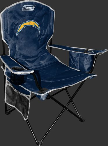 Front of Rawlings Navy Blue NFL San Diego Chargers Chair With Team Logo SKU #02771083111