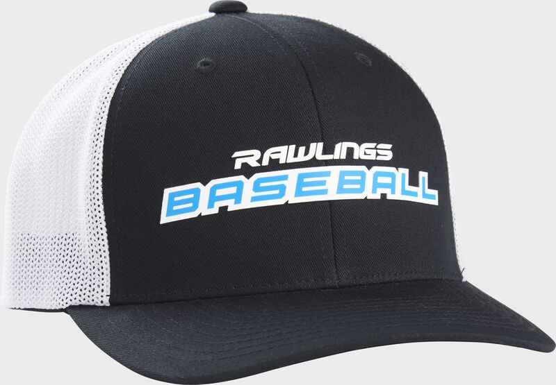 Rawlings Baseball Mesh Snapback Hat