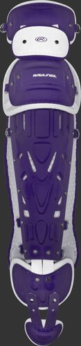 Purple/white LGPRO2 Pro Preferred adult leg guards