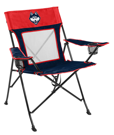 NCAA UCONN Huskies Game Changer chair with the team logo