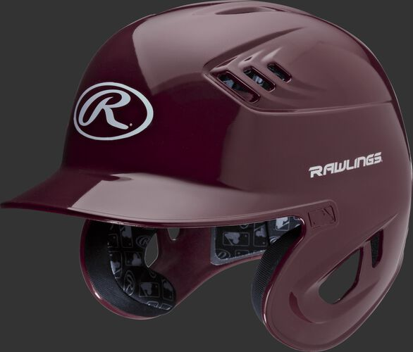 Coolflo High School/College Batting Helmet Maroon