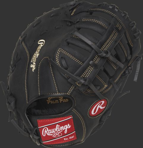 R115FBM 11.5-inch youth Renegade Series first base mitt with a black back