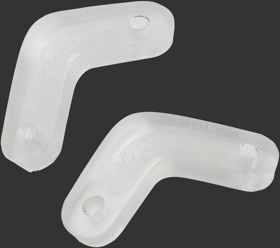 Spacers for Mach softball wire guard facemask to fit on a junior size helmet - SKU: MCSBWG-W