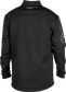 Back of a black Rawlings mid weight Gold Collection jacket - SKU: GCMW2-B image number null