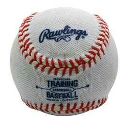 Fabric-Covered Training Baseball
