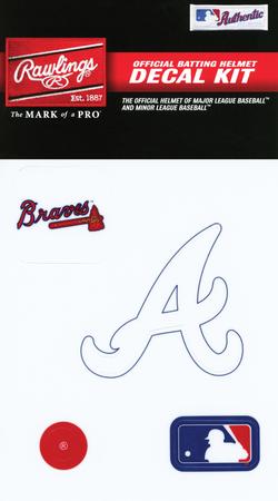 MLB Atlanta Braves Decal Kit