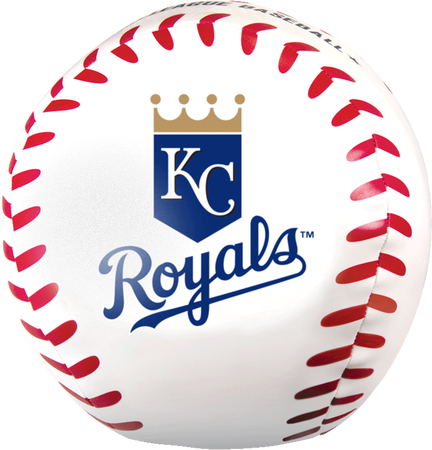 MLB Kansas City Royals Big Boy 8 in Softee Baseball