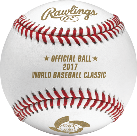 Dozen 2017 World Baseball Classic Baseball