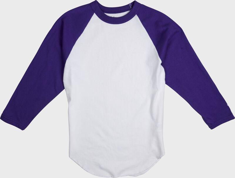 Adult 3/4 Sleeve Crew Neck Shirt