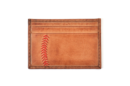 Baseball Stitch Card Case
