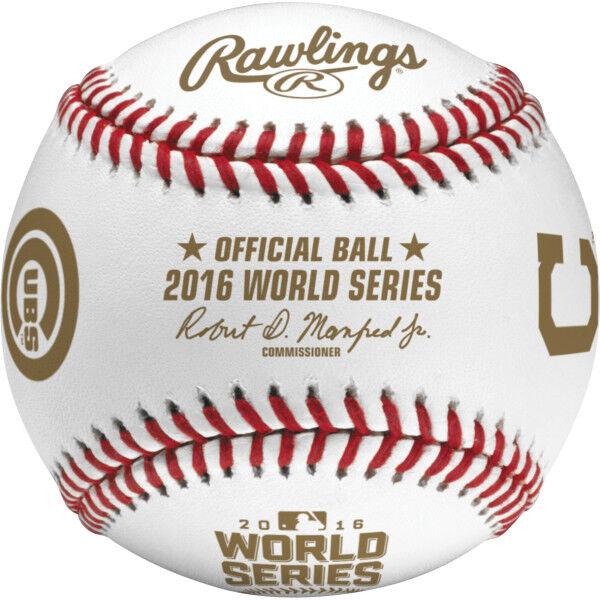 MLB 2016 World Series Dueling Baseball