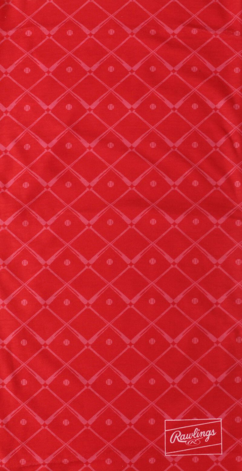 A red bats Rawlings multi functional gaiter - SKU: RC40005-600