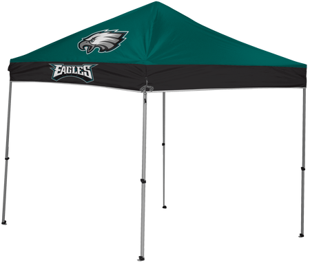 NFL Philadelphia Eagles 9x9 shelter with 4 team logos