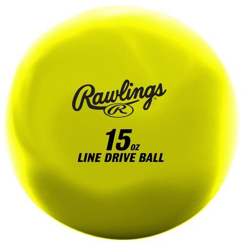 LDBALL yellow line-drive training ball SKU #LDBALL