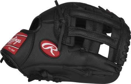 SPL112CS 11.25-inch Select Pro Lite Corey Seager youth infield glove with a black thumb and black H web