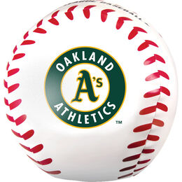 MLB Oakland Athletics Big Boy 8 in Softee Baseball