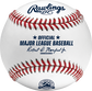 A MLB 2021 Salt River Fields 10th Anniversary baseball with the Official Ball of MLB stamp - SKU: EA-ROMLBSRF10-R image number null