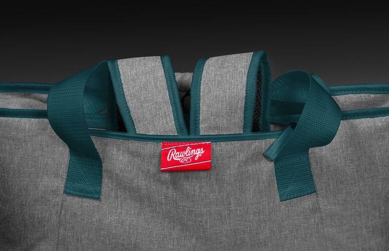 Hideaway backpack straps on a Philadelphia Eagles 30 can cooler - SKU: 10311080111