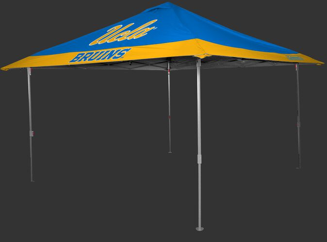Rawlings Blue and Gold NCAA UCLA Bruins 10x10 Eaved Canopy With Team Logo and Name SKU #07843065111