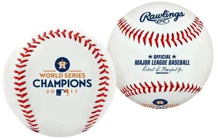 2017 Houston Astros World Series Champion Replica Baseball