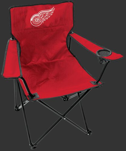 Front of Rawlings Red NHL Detroit Red Wings Gameday Elite Chair With Team Logo SKU #00694116111