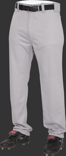 Front of Rawlings Blue Gray Youth Semi-Relaxed Pant - SKU #YP31SR
