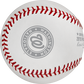A grey Washington Nationals logo stamped on a NLCS19CHMP Washington Nats' NLCS Champions baseball image number null