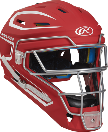 Mach Adult 2-Tone Hockey Style Catchers Helmet