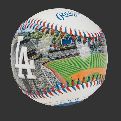 Stadium picture of a Los Angeles Dodgers stadium baseball