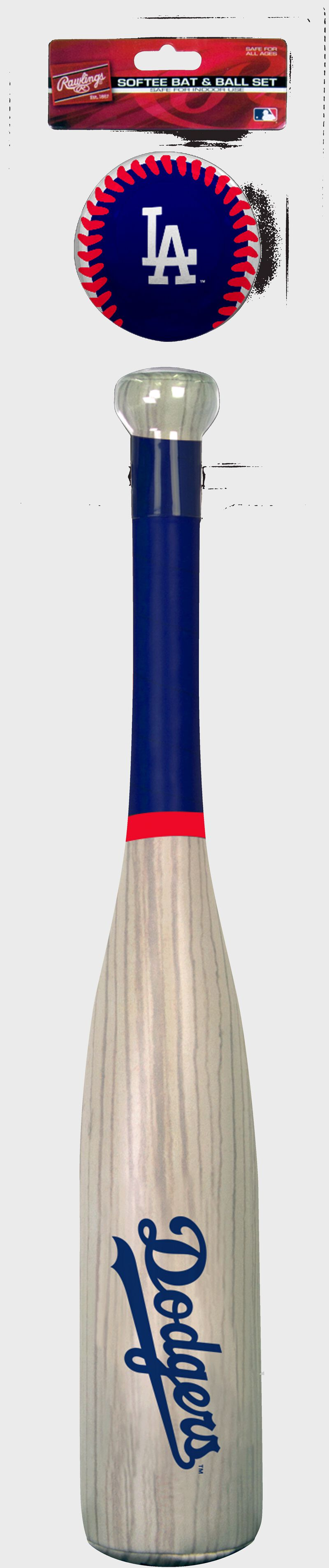 MLB Los Angeles Dodgers Bat and Ball Set