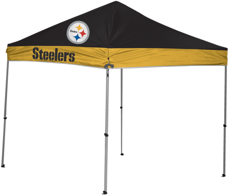 NFL Pittsburgh Steelers 9x9 shelter with 4 team logos
