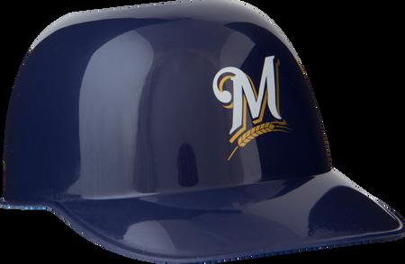 MLB Milwaukee Brewers Snack Size Helmets