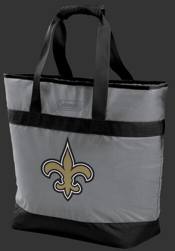 Rawlings New Orleans Saints 30 Can Tote Cooler In Team Colors With Team Logo On Front SKU #07571077111