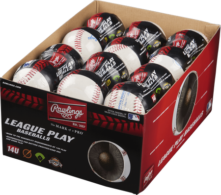 24 Pack Cal Ripken 14U League Play Baseballs