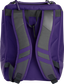 Back of a purple Rawlings Franchise backpack with gray shoulder straps - SKU: FRANBP-PU image number null