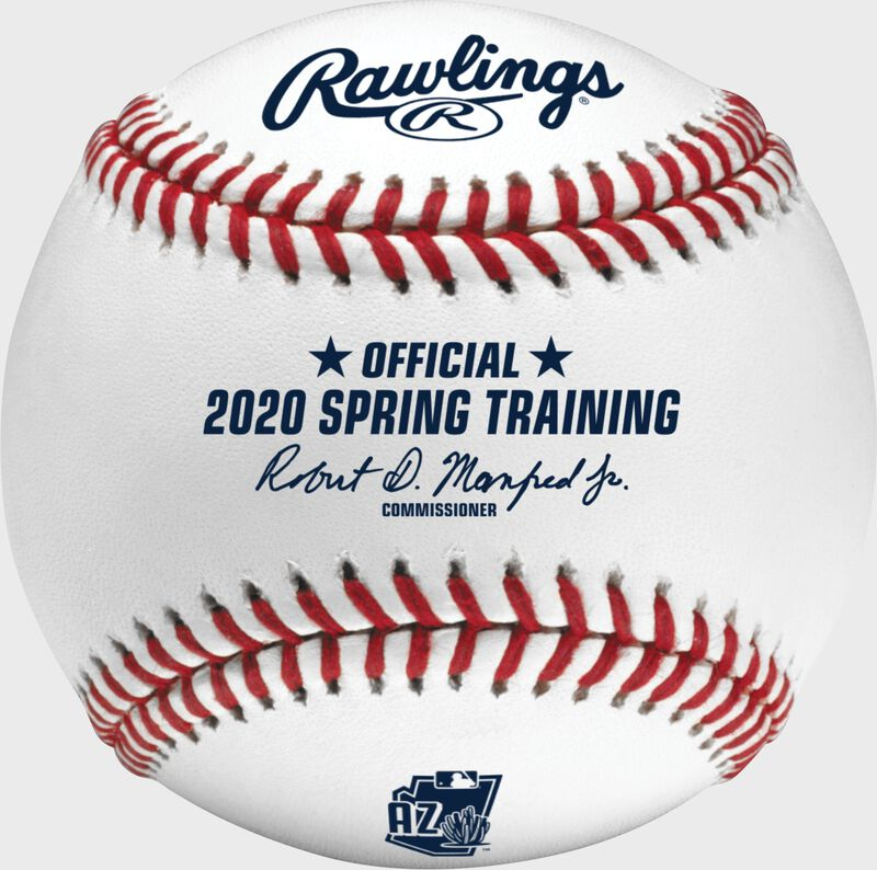 A MLB 2020 Arizona Spring Training Baseball with the Official Ball of MLB stamp - SKU: ROMLBSTAZ20