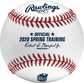 A MLB 2020 Arizona Spring Training Baseball with the Official Ball of MLB stamp - SKU: ROMLBSTAZ20 image number null