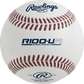 R100-UP1 Ultimate Practice Technology High School baseball with molded seams image number null