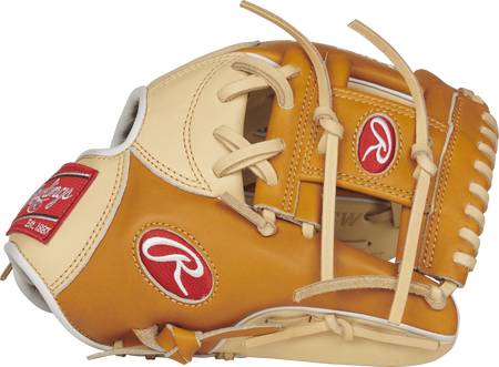 PRONP4-2CTW 11.5-inch Heart of the Hide glove with a tan/camel thumb and a tan I web