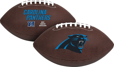 NFL Carolina Panthers Air-It-Out youth football with team logo