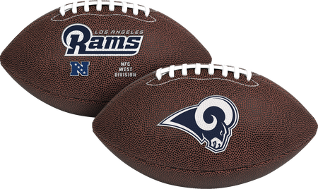 NFL Los Angeles Rams Air-It-Out youth football with team logo