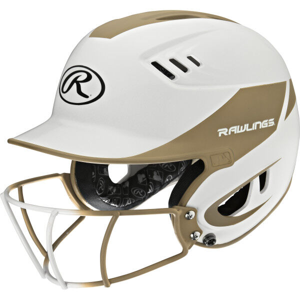 Velo Junior Batting Helmet Vegas Gold
