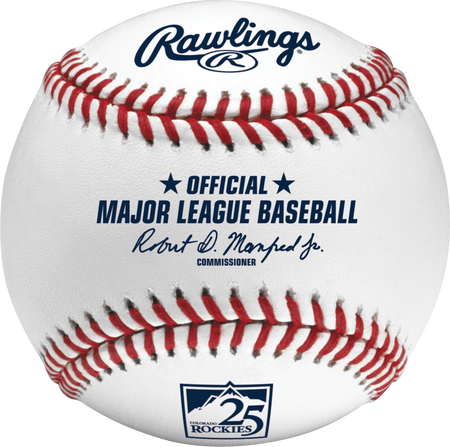 MLB 2018 Colorado Rockies 25th Anniversary Baseball