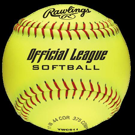 """Official League Recreational 11"""" Softballs (10 & Under)"""