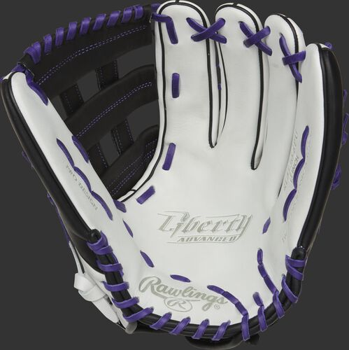 Liberty Advanced Color Series 13-Inch Outfield Glove Black/Purple