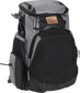 Front right of a black/gray R1000 Rawlings Gold Glove equipment backpack image number null