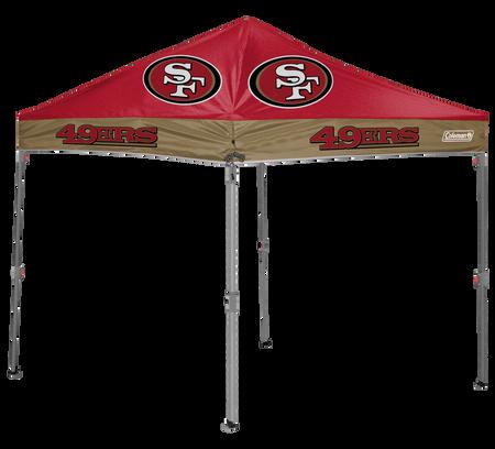 NFL San Francisco 49ers 10x10 Shelter
